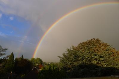Regenbogen im Bernerland